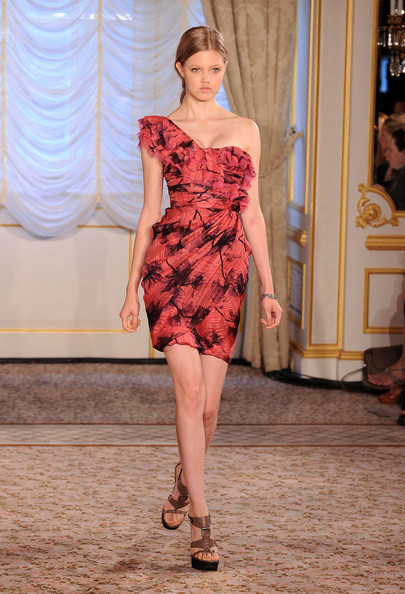 A model walks the runway at the Jason Wu Resort 2011 Collection at The St. Regis on June 4, 2010 in New York City.