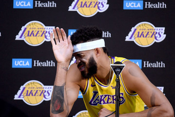 Javale Mcgee Los Angeles Lakers Media Day