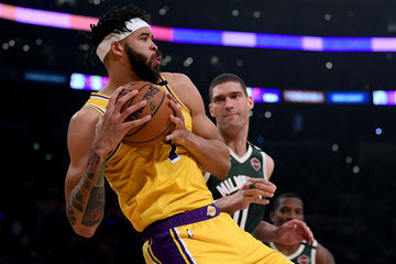 Javale Mcgee Milwaukee Bucks v Los Angeles Lakers