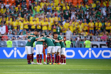 Javier Hernandez Hirving Lozano Mexico Vs. Sweden: Group F - 2018 FIFA World Cup Russia