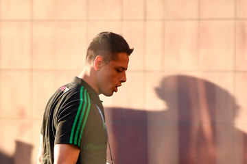 Javier Hernandez Mexico Team Arrives To Samara - FIFA World Cup Russia 2018