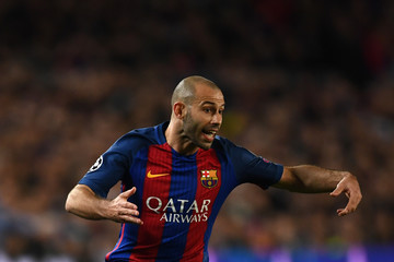Javier Mascherano FC Barcelona v Paris Saint-Germain - UEFA Champions League Round of 16: Second Leg