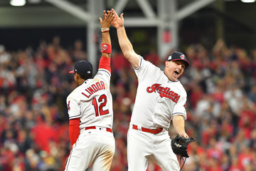 Jay Bruce Divisional Round - New York Yankees v Cleveland Indians - Game One