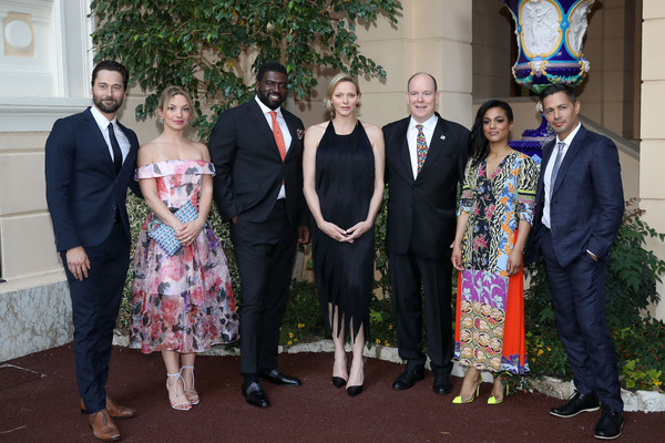 59th Monte Carlo TV Festival: Cocktail At The Monaco Palace