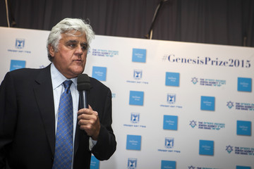 Jay Leno The Second Annual Genesis Prize Award Ceremony Honoring Michael Douglas