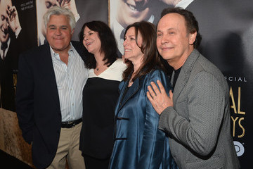 Jay Leno Mavis Leno 'Billy Crystal 700 Sundays' Presentation in LA