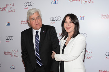 Jay Leno Mavis Leno Arrivals at the Hall of Fame Induction Gala