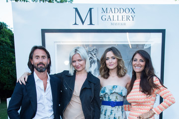 Jay Rutland Hamptons Magazine Celebrates Cover Star Rose Byrne Presented By Lalique Along With Maddox Gallery