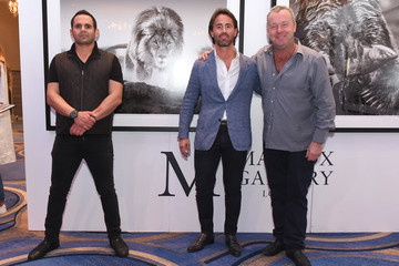 Jay Rutland Haute Living's VIP Pop-Up Opening Of Alec Monopoly From Art Life And David Yarrow From Medal's Gallery