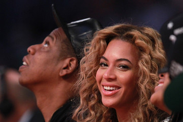 Jay-Z Beyonce Knowles NBA All-Star Game 2013