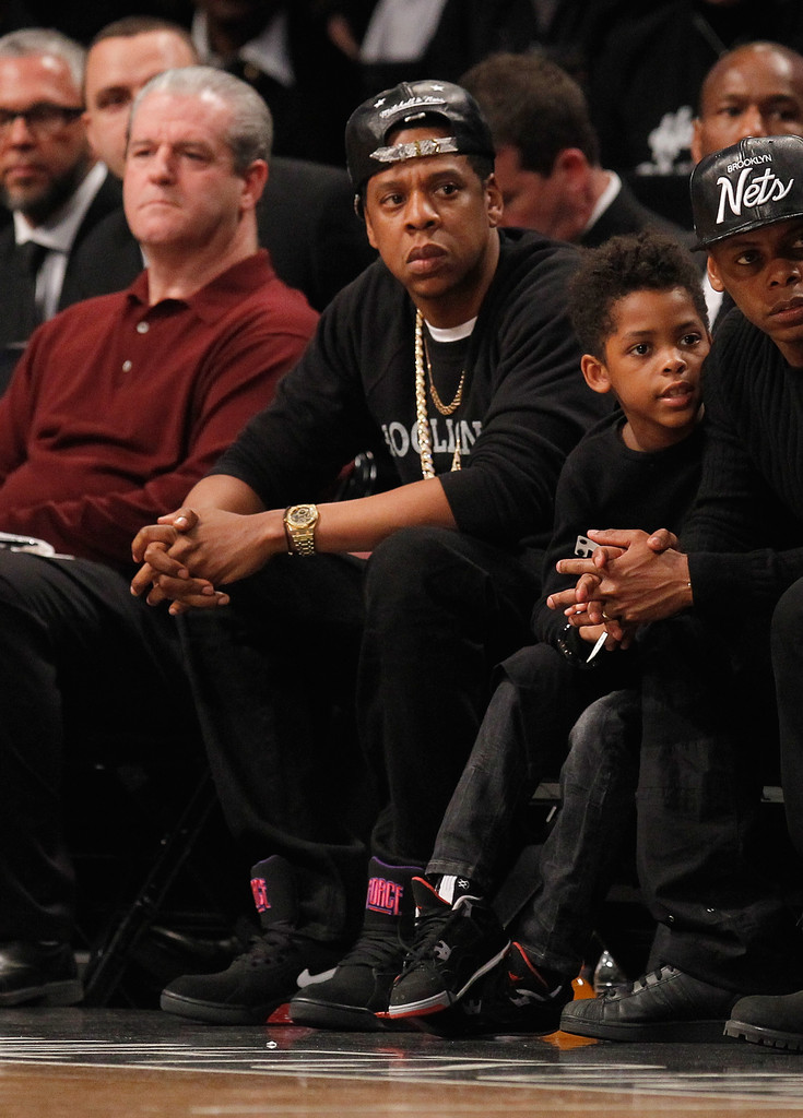Jay-Z - Chicago Bulls v Brooklyn Nets - Game One
