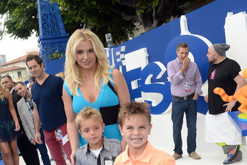 "Jayden James Federline ""SMURFS 2"" - Los Angeles Premiere - Blue Carpet"