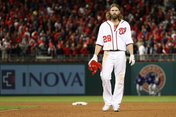 Jayson Werth Division Series - Los Angeles Dodgers v Washington Nationals - Game Five
