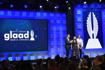 Jazz Jennings 29th Annual GLAAD Media Awards Los Angeles - Dinner and Show