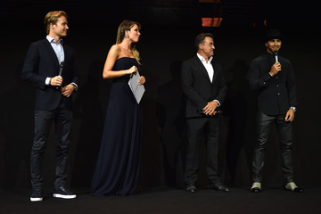 Jean Alesi Laureus F1 Charity Night 2015