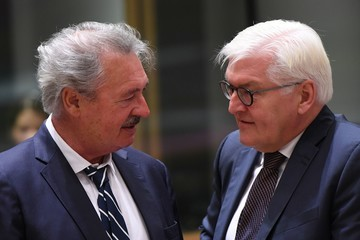 Jean Asselborn EU Foreign Ministers Meeting at the European Council