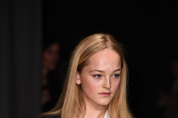 Jean Campbell Burberry February 2017 Show - Arrivals