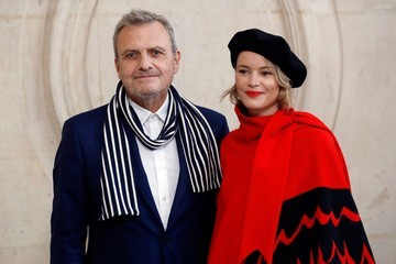 Jean-Charles de Castelbajac Christian Dior : Outside Arrivals  - Paris Fashion Week Womenswear Spring/Summer 2018