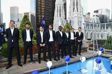 Jean Christophe Bahebeck Hublot Launches its Latest Timepiece With Paris Saint-Germain Team and Celebrates Partnership in New York City