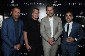 Jean-Francois Sberro Haute Living Celebrates Nikolaj Coster-Waldau at Doheny Room With Hublot