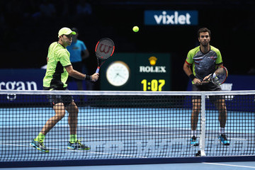 Jean-Julien Rojer Day Five - Nitto ATP World Tour Finals