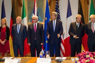 Jean-Marc Ayrault US-EU Foreign Ministers Meet at Tufts University