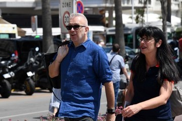 Jean Paul Gaultier Celebrities Are Seen tt The 69th Annual Cannes Film Festival