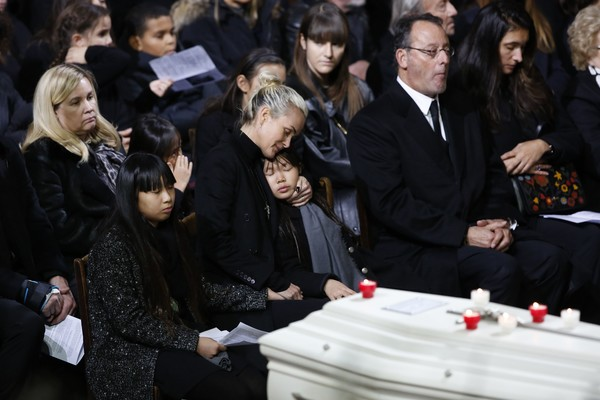 France National Tribute to Johnny Hallyday at La Madeleine Church in Paris