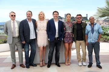 Jean Reno Jared Harris 'The Last Face' Photocall - The 69th Annual Cannes Film Festival