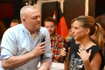 Jeanette Biedermann Bundesvision Song Contest 2015 - Press Conference