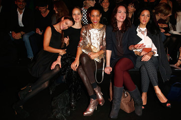 Jeanette Hain Sonja Kirchberger Arrivals at the Minx by Eva Lutz Show