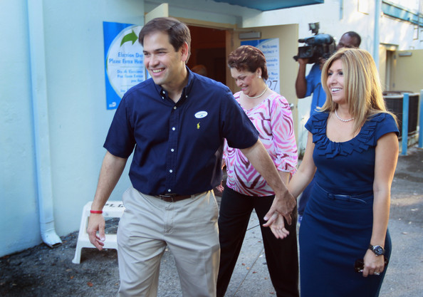 Marco rubio wife dolphins