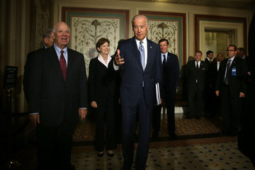 Jeanne Shaheen Vice President Biden Meets With Lawmakers on Capitol Hill