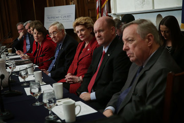 Jeanne Shaheen Sen. Harry Reid Holds Senate Democratic Steering And Outreach Committee Forum On Supreme Court Vacancy
