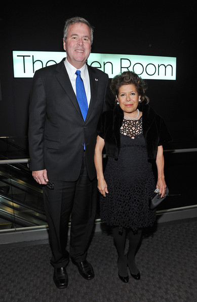 Pictures of Jeb Bush's Wife http://www.zimbio.com/pictures/TgPi1WS0kJ5/2012+Lincoln+Center+Institute+Gala/1PEWdt304O3/Jeb+Bush