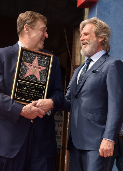 John Goodman Honored With Star On The Hollywood Walk Of Fame