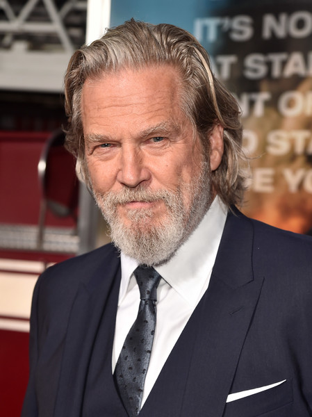 Premiere of Columbia Pictures' 'Only the Brave' - Red Carpet [only the brave,hair,facial hair,beard,suit,hairstyle,chin,gentleman,formal wear,official,tuxedo,jeff bridges,california,regency village theatre,columbia pictures,red carpet,westwood,premiere,premiere]