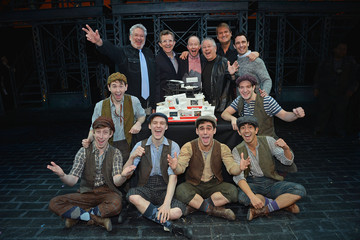 Jeff Calhoun Garett Hawe 'Newsies' Celebrates One Year Anniversary