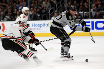 Jeff Carter Chicago Blackhawks v Los Angeles Kings