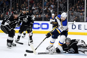 Jeff Carter Drew Doughty St Louis Blues vs. Los Angeles Kings
