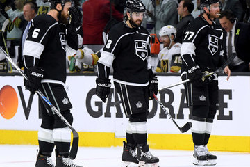 Jeff Carter Drew Doughty Vegas Golden Knights vs. Los Angeles Kings - Game Four