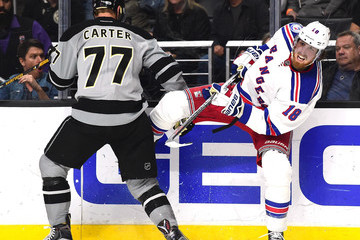 Jeff Carter New York Rangers v Los Angeles Kings