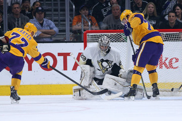 Jeff Carter Tyler Toffoli Pittsburgh Penguins v Los Angeles Kings