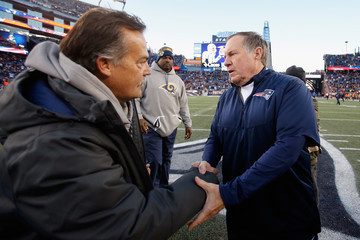 Jeff Fisher Los Angeles Rams v New England Patriots