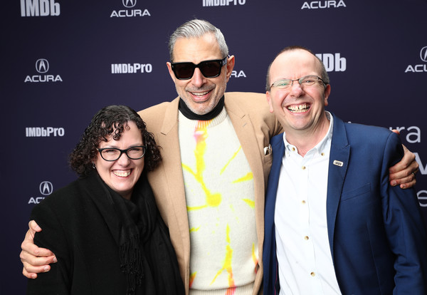 The IMDb Studio At Acura Festival Village On Location At The 2019 Sundance Film Festival – Day 4 [the mountain,eyewear,event,premiere,glasses,performance,smile,vision care,col needham,ceo,jeff goldblum,r,c,imdb studio at acura festival village on location,imdb studio,imdb,sundance film festival]