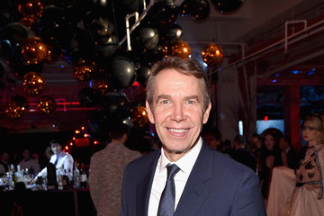Jeff Koons Moet Hennessy at amfAR's the Fabulous Fund Fair