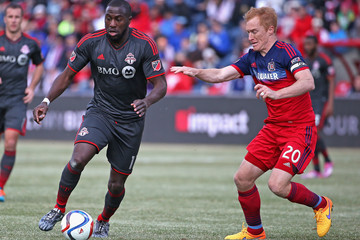 Jeff Larentowicz Toronto FC v Chicago Fire