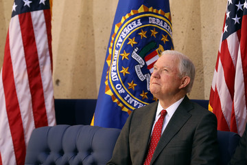 Jeff Sessions AG Sessions Delivers Remarks at Installation of FBI Director Christopher Wray
