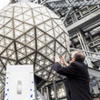 Jeff Straus New Year's Eve Ball Tested Before Official Times Square Celebration