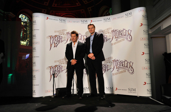 War Of The Worlds New Generation: Liam Neeson At 'The War Of The